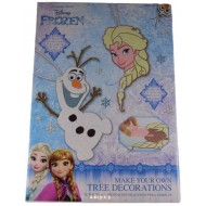 Disney Frozen Make Your Own Tree Decorations