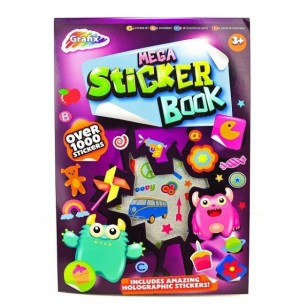 Mega Sticker Book