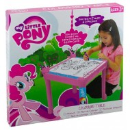 My Little Pony Colouring Table