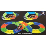 Flexi Glow Track Bridge Set