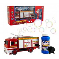 Bubble Blowing Fire Engine