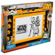 Star Wars Large Magnetic Scribbler